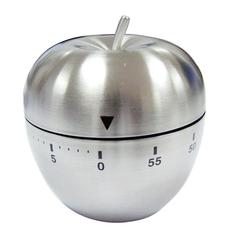 不锈钢苹果定时提醒器 厨房定时器