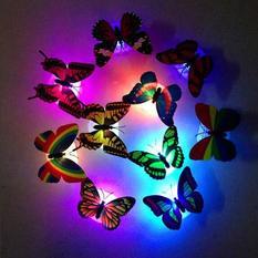 装饰发光蝴蝶可粘贴 7168小夜灯 960个/箱