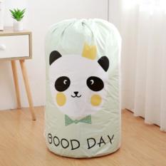 束口棉被袋 收纳袋防尘袋防潮(熊猫)