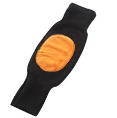 冬季保暖加绒加厚护膝--黑色